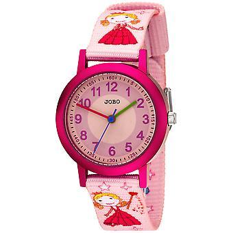 JOBO Kids Wristwatch كوارتز التناظرية الألومنيوم الأطفال ووتش