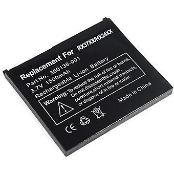 Battery for HP Compaq iPAQ rx3700 HX2000 HX2100 HX2190 HX2490 HX2490b HX2490c HX2495b 360136-001 360136-002 367858-001