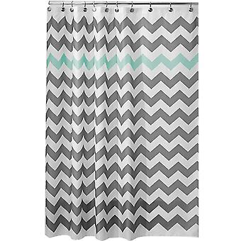 Wavy striped shower curtain 180x180cm