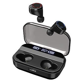 X11 tws bluetooth bluetooth 5.0 fone de ouvido hifi dual digital display ipx7 à prova d'água 4000mah fone de ouvido com microfone