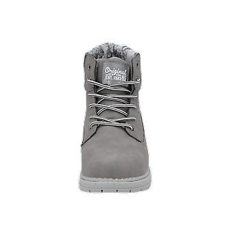 H.I.S SCHNÜRSTIEFELETTE Women's Boots Grey Lace-Up Boots Winter