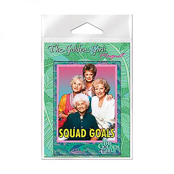 Golden Girls Squad Mål Carded Magnet