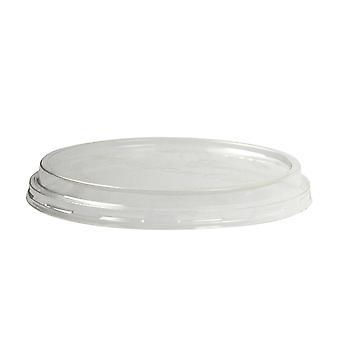 Vegware Compostable PLA Round Deli Containers Lid 8-32oz