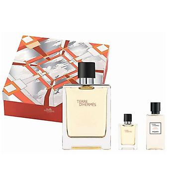 Hermès - Terre d'apos;Hermes GIFTSET, Edt Spray 100ml/Edt 12,5ml/Afte Shave Lotion 40ml - 0ML