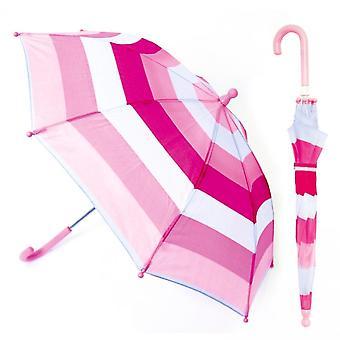 Drizzles Childrens/Kids Striped Umbrella