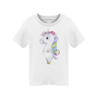 Stand Unicorn Clipart Tee Toddler's -Image by Shutterstock
