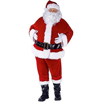 Mr Claus Costume Adult