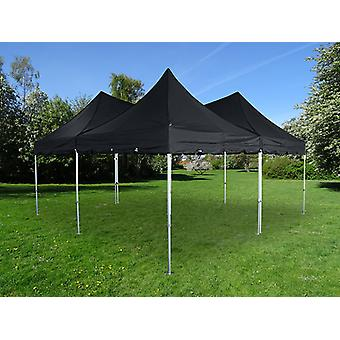 Foldetelt FleXtents PRO Peak Pagoda 6x6m, Sort