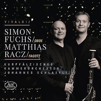 Vivaldi / Racz / Kammerorchester / Schlaefli - Bassoon & Oboe Concertos [SACD] USA import