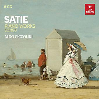 Ciccolini*Aldo - Satie: Piano Works (2nd Version) Melodies [CD] USA import