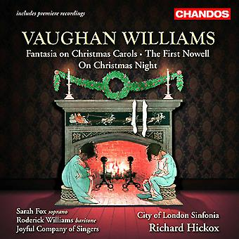 R. Vaughan Williams - Vaughan Williams: Fantasia op Kerstmis; de eerste Nowell; tijdens de kerstnacht [CD] USA importeren