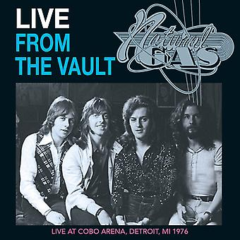Natural Gas - Live From the Vault [CD] USA import