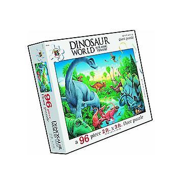96 stykke dinosaur gulv puslespill