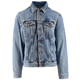Nudie Jeans Blue Denim Jerry Trucker