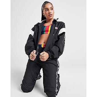 New Karl Kani Women's  Woven Tape Jacket Black