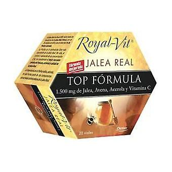 Royal-Vit Top Formula Royal Jelly 20 ampullen