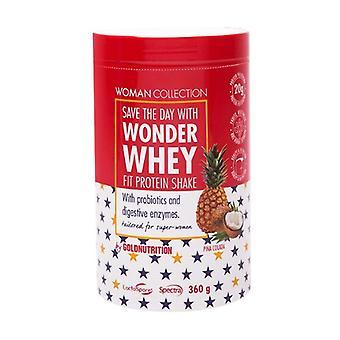 Wonder Whey Pina Colada - Fit Protein Shake 360 g