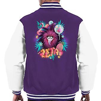 Angry Birds Zeta Floral Men's Varsity Jacket