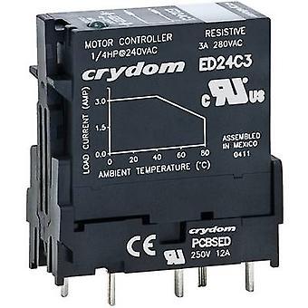 Crydom SSR ED24D3R Carga atual (máximo.): 3 Uma tensão de comutação (máximo.): 280 V AC Random turn on 1 pc (s)