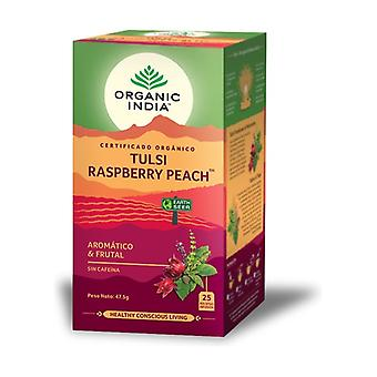 Tulsi Raspberry Peach 25 infusion bags