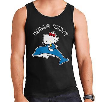 Hello Kitty Ratsastus Delfiini Miesten&s Liivi