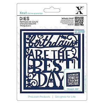 Xcut Dies Fødselsdage er de bedste dage (2stk) (XCU 503367)