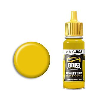 Ammo by Mig Acrylic Paint - A.MIG-0048 Yellow (17ml)