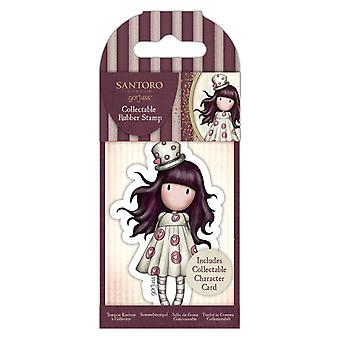 Gorjuss Collectable Mini Rubber Stamp No.68 Loveheart