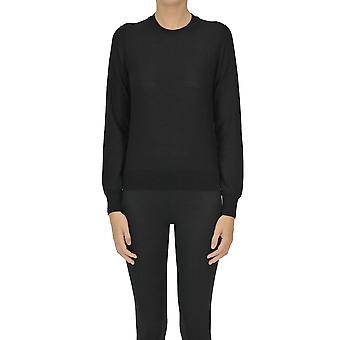 Comme Des Garçons Ezgl046019 Femme's Pull en laine noire