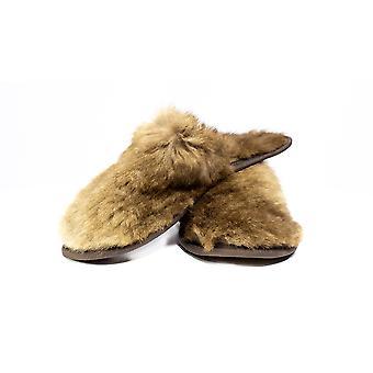 Jacaru 6264 kangaroo fur slippers