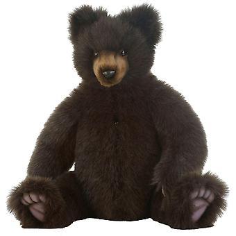 Plush - Hansa - Teddy Bear 18'' Seated Soft Doll New 6357