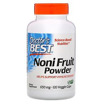 Doctor's Best, Noni Fruit Powder, 650 mg, 120 Veggie Caps