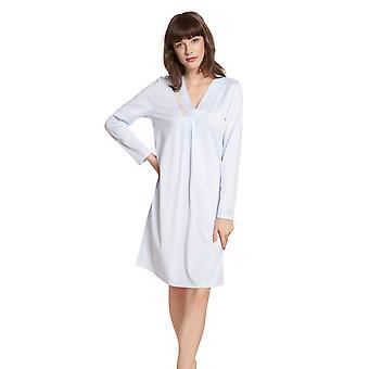 Féraud High Class 3201193-11713 Women's Pearl Blue Cotton Nightdress