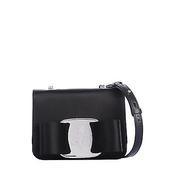 Salvatore Ferragamo 21h921726858 Femmes's Sac à bandoulière en cuir noir