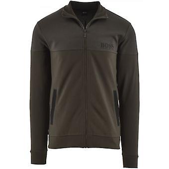 BOSS Khaki Tracksuit Jacket