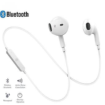 S6 Sport In-ear Neckband Wireless Headphone Bluetooth Earphone With Mic Stereo Earbuds Headset For Iphone Xiaomi Huawei