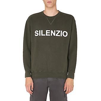 Aspesi Ay20l54085390 Men's Green Cotton Sweatshirt