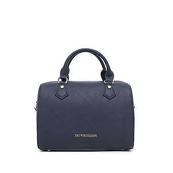 Trussardi -BRANDS - bags - handbags - 76BTRUS103_NAVY - ladies - navy