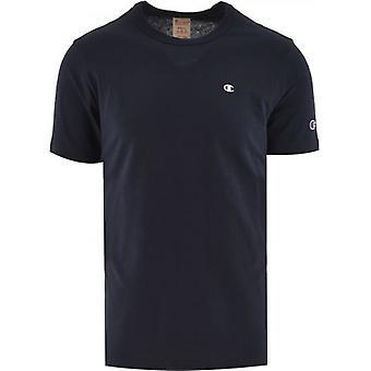 Champion Navy Crew Neck T Shirt