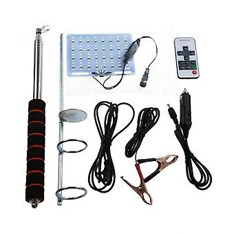3m 48w Telescopic Cob Rod-led Spotlight, With Rf Remote Control
