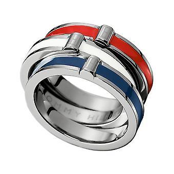 Tommy Hilfiger - Ring - NAISET - 2700139B - HOLIDAY Gr 52