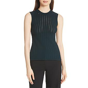 Theory | Pointelle Knit Crisscross Top