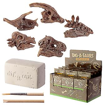 Fun Excavation Dig it Out Kit - Dinosaur Fossil X 1 Pack
