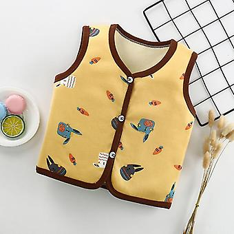 Spring Autumn Baby Wool Vests Children's For Boys Girls Fashion Waistcoat Clothes Kids Tops Jackets Colete