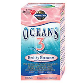 حديقة الحياة المحيطات 3، الهرمونات الصحية 90 Softgels