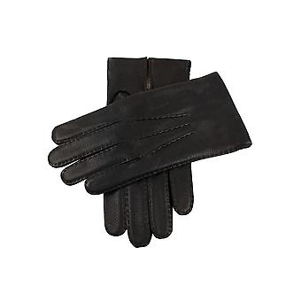 Men's Handsewn Chamois Lined Deerskin Leather Gloves