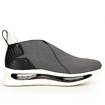Slip On Sneakers Arkistan Kimono Kg912 Gris Élastique