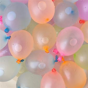 111pcs / كيس بالونات المياه، لعبة الصيف في الهواء الطلق- حزمة قنابل بالونات المياه