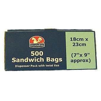 Kitchen King Sandwich Bags On Roll 18cm x 23cm