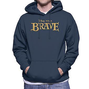 Pixar Brave Logo Miesten ja apos;s huppari
